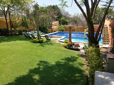 Photo for Quinta las Burras its a mexican big house in Cuernavaca city. Greate pool