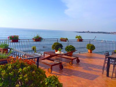 Photo for SEA FRONT APARTMENT Terrace + Free Wi-Fi