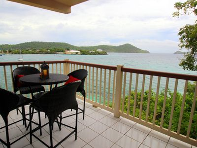 Waterfront, no steps in, close to beach & pool.Rate includes cleaning fee. B6