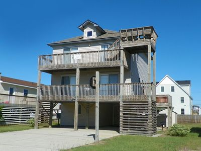 Photo for OCEANSIDE! - 4 Bedrooms, Hot Tub, WIFI, Crow's Nest, Pool Table, YMCA Access!