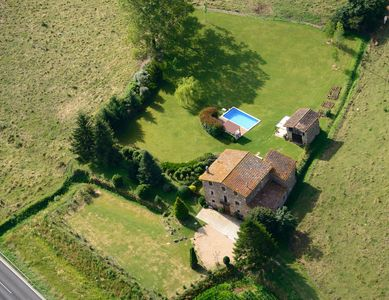 Photo for Property with free Wifi boasts an extensive garden with views of Pyrenees