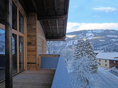 Photo for Spectacular penthouse on 110 sqm with sauna in the Kitzbühel ski ressort