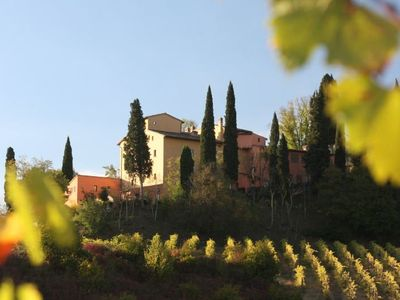 Photo for One bedroom Apartment, sleeps 2 in San Gimignano with Pool, Air Con and WiFi
