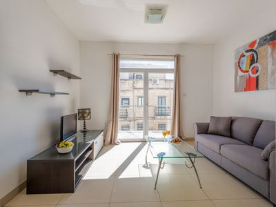 Photo for SAINT JULIAN'S 2 BEDROOM FLAT WITH BALCONIES BY SPINOLA BAY