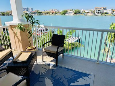 Photo for Brand New, Beautiful and Specious Waterfront Condo! 10 min Walk To The Beach!!
