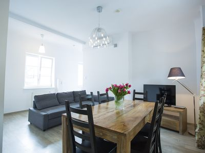 Photo for M13 apartment in Stare Miasto with WiFi & air conditioning.