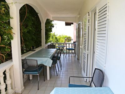 Photo for Three bedroom apartment with terrace and sea view Podaca (Makarska)