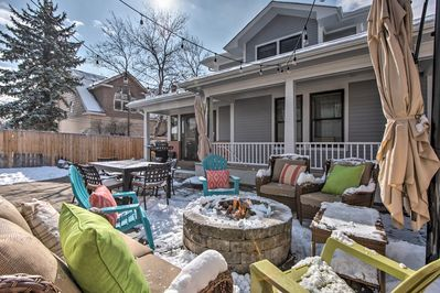 Enjoy the area's famed 300 days of sunshine from the comfort of your backyard.