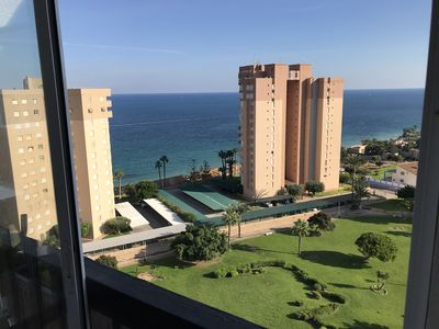 Photo for Top Floor 12th Apartment, 4 people, Campoamor, 150mts to beach, Amazing Views