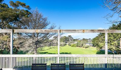 Photo for Portsea Reserve House - Enjoy sunny rear deck overlooking leafy view