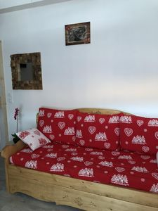 Photo for Warm, quiet and well-equipped apartment in the heart of Beaufortain