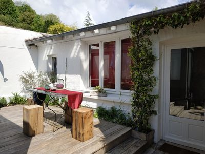 Photo for HOUSE / TRIPLEX WITH WOODED TERRACE - Downtown HONFLEUR