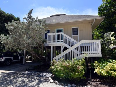 Photo for Sunset Captiva 16 Village Area Stilted Home w/Beach access, pool, tennis, dock
