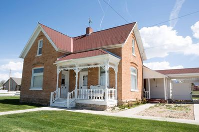Pioneer home built in 1906, comfortably furnished so you'll never want to leave.
