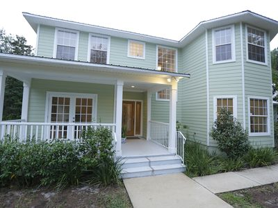 Photo for GORGEOUS Near Beach overlooking Bulow Creek State Park - 2700sf 3BR/3BA