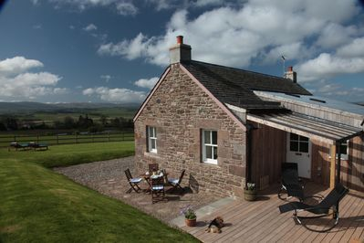 From the sheltered Sun Terrace enjoy stunning views over the Strathearn Valley.