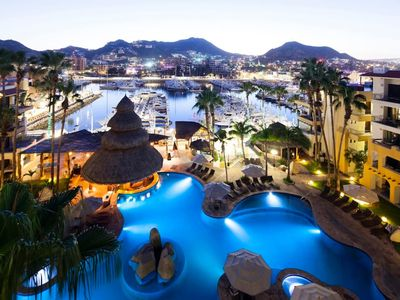 Photo for Cool Pool & Marina View Luxe Jr. Suite (Studio) In Cabo