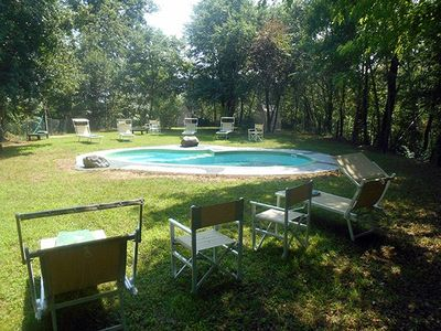 Photo for 4 bedroom Villa, sleeps 8 in Pralungo with Pool, Air Con and WiFi