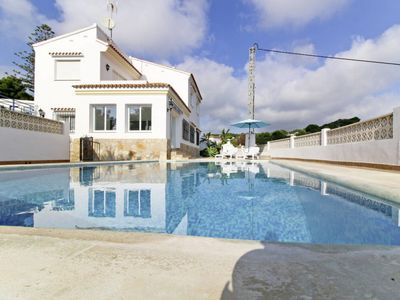 Photo for Vacation home Avellana in Moraira - 9 persons, 4 bedrooms