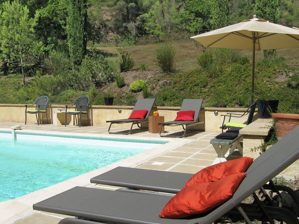 Nice Property Image#3 Superb Private Domain With 2 Separate Accommodations And  Heated Pool