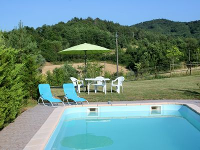 Photo for Cosy country gite,Rivel/Puivet. Lovely pool