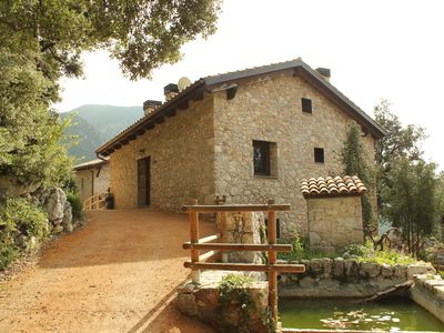 Photo for Cosy accommodation in 4 houses complex outdoor pool, spa, paddle ...