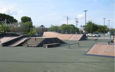 Fun for the young or young at heart. Skate park is within walking distance.
