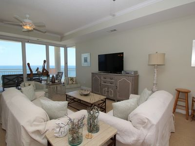 Photo for La Playa 902- Amazing Beach Front Balcony Views!