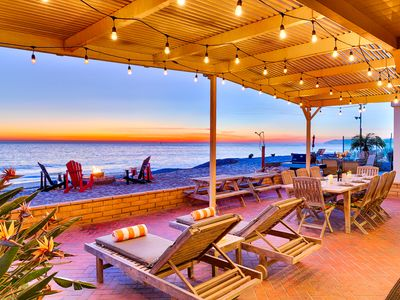 Photo for 25% OFF AUG+SEP -Beachfront w/ Stellar Deck,Sweeping Views,Perfect for Family