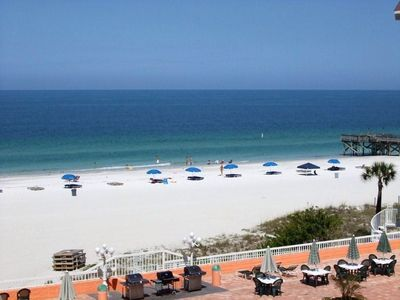 Photo for Spacious 1400 sq. ft condo overlooking the Gulf and pool, free WIFI and LD