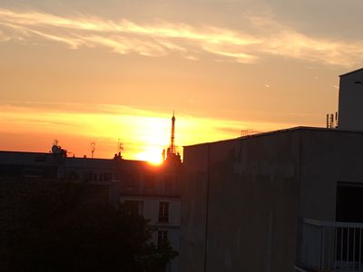 Photo for Typical Parisian flat.  Charming 2 rooms under the roofs of Paris