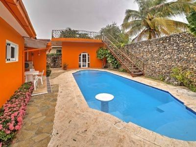 Photo for Cabarete VILLA 4BR Gated OceanFront community