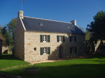 Photo for BRONNE FARM RENOVATED POINTE DU RAZ at 300m sea SPECIAL OFFER: -10% 2 ° week