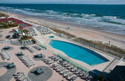 Photo for Ocean Front One Bedroom Condo in Ormond Beach (A214)