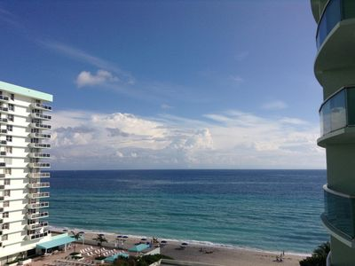 Photo for Ocean View (9th Fl), Luxury Condo On Hollywood Beach. Sleeps 4