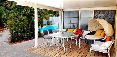 Photo for Awesome PRIVATE 2Room Guest Suite Pool Home. Minutes to Beaches,Stadiums,PGA