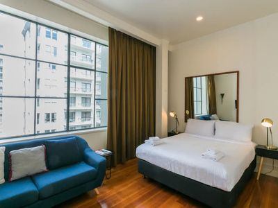 Photo for Auckland CBD Studio Apartment with Pool Access