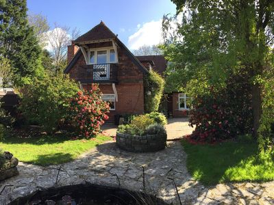 Photo for Beautiful 3 Bedroom farmhouse in Lymington. Perfectly located within New Forest.