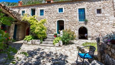 Photo for Idyllic stone villa in a serene natural setting