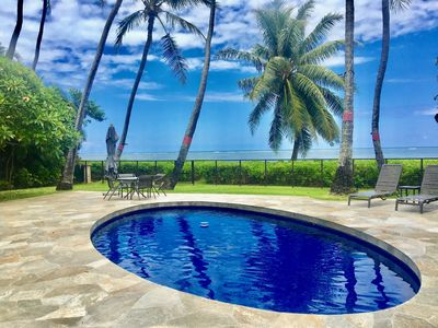 Photo for New 2019 Lower Rate! Kalani Kai Beach House, Perfect Oceanfront Retreat!