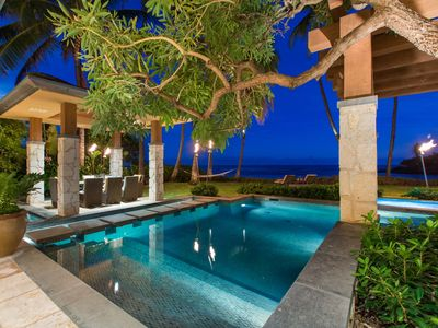 Beach front, Private estate, Tropical open air living, Luxurious, Banyan House