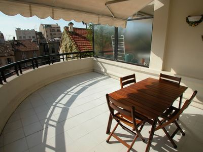 Photo for Apartment in the center of Cannes with Internet, Air conditioning, Lift, Terrace (528195)