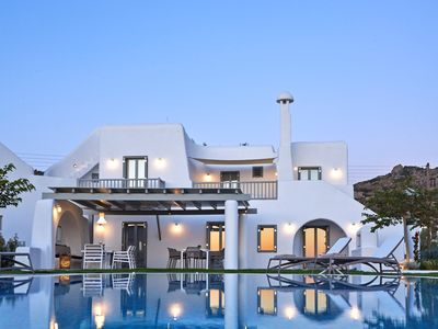 Photo for Amazing Villa Meraviglia Naxos Island, 4 BR 5 BA with Private Pool, Up to 10 Guests !