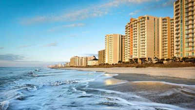Photo for Stunning/Affordable 2-BR deluxe Wyndham Ocean Blvd! Family fun! Sleeps 10