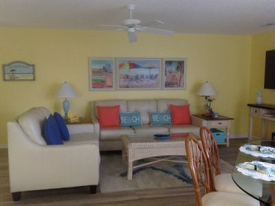 Photo for Great location 2 br 2 bath 1st floor  a few steps to beach
