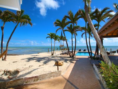Photo for Oceanfront 4 bedroom home, pool, dockage, located in the Heart of Islamorada Florida Keys