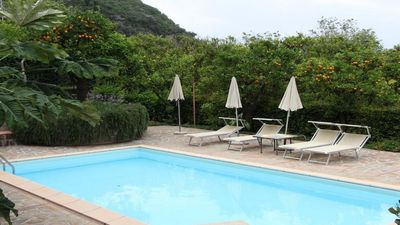 Photo for Nice Lusal (E) independent apartment at complex with garden-pool Sorrento Coast