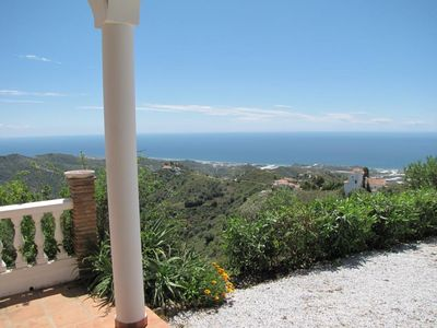 Photo for Luxury villa with exclusive panoramic views of the Mediterranean and mountains