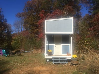 Photo for New Tiny House 15 minutes from Asheville! Private, Pet friendly, Quiet.