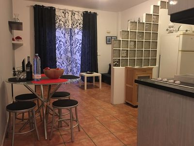 Photo for ALAIA bungalow with private pool 4 minutes from the beach with WIFI